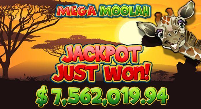 Microgaming Mega Moolah slot with Progressive Jackpot