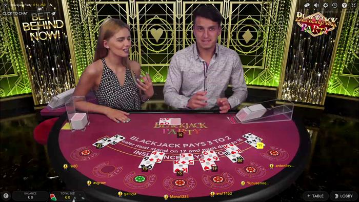 интернет казино с живыми дилерами