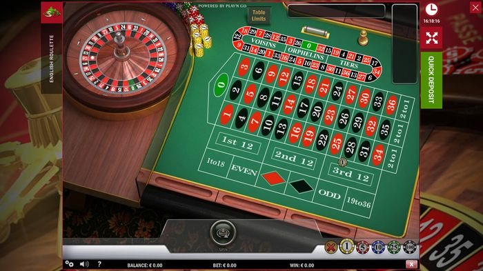 Win at online roulette