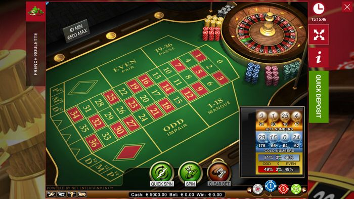 French roulette and its features