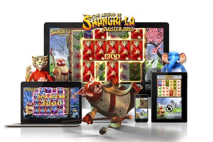 Играйте в The Legend of Shangri-La: Cluster Pays на компьютере и мобильных устройствах