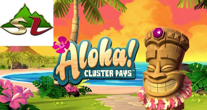 Overview of the slot Aloha! Cluster Pays slot by NetEnt