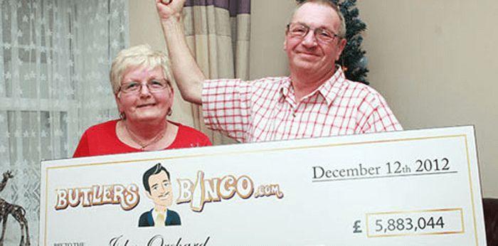December 2012, winning The Dark Knight, £ 5.8 million for John Orchard of Britain