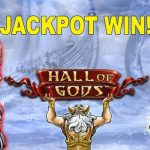NetEnt Slot Hall of Gods: Jackpot History