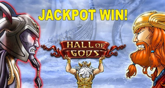NetEnt Slot Hall of Gods: Jackpot History