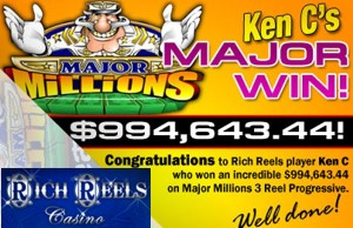 Major Millions Slot Jackpot for Canadian Player