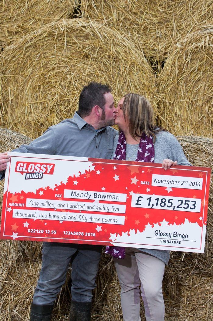 Major Millions Jackpot Mandy Bowmen