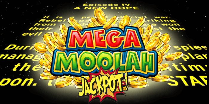 Mega Moolah jackpot in Star Wars Day