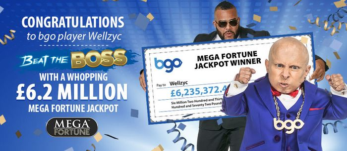 December 2016, the main win of Mega Fortune in the amount of € 7.44 million went to a player from the UK