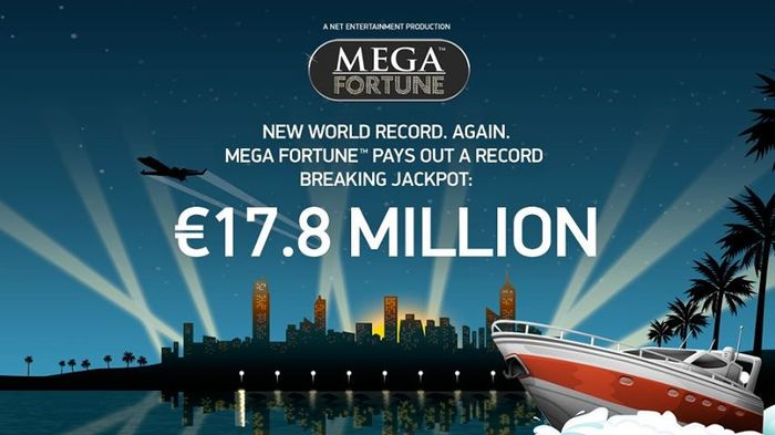 January 2013, Mega Fortune's super-win of € 17.86 million went to a player from Helsinki