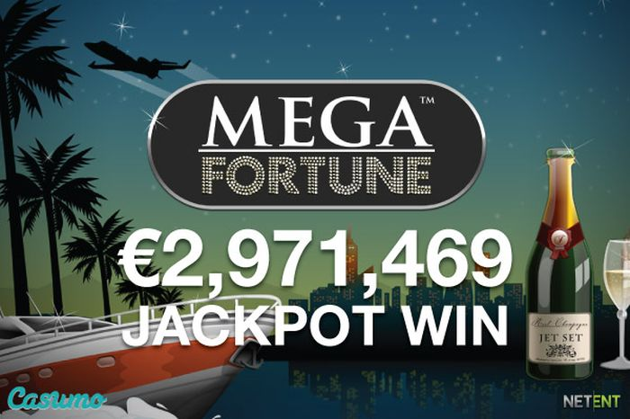 July 2016, the main cash prize of Mega Fortune in the amount of € 2.97 million was won by David from Sweden
