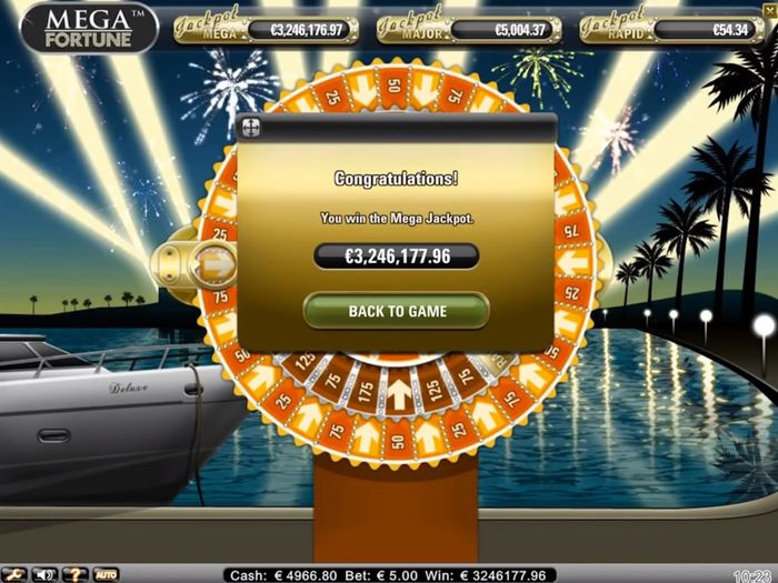 October 2013, Mega Jackpot in the amount of € 3.25 million ripped off the Finnish player