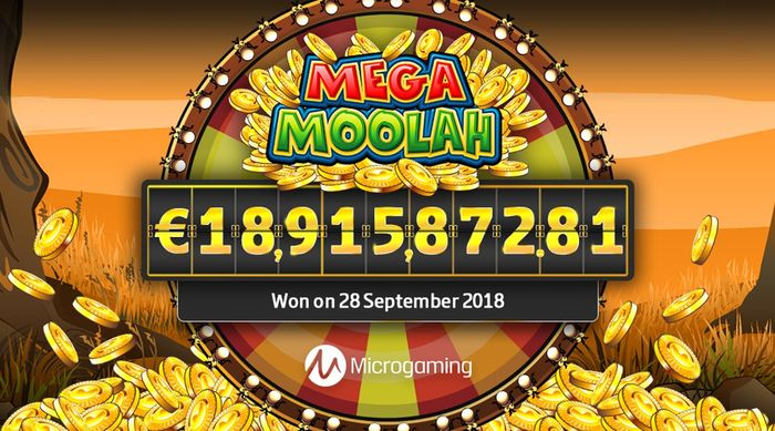 Mega Moolah record jackpot in September 2018