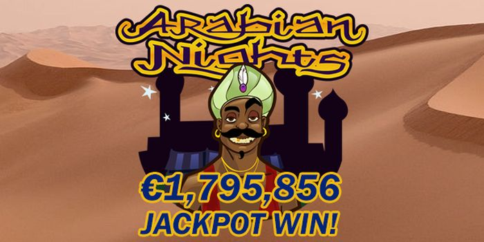 Arabian Nights Finland Jackpot