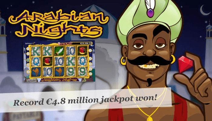 Arabian Nights Jackpot for Peter in 2010