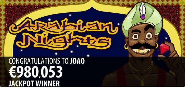 Arabian Nights Jackpot 2011