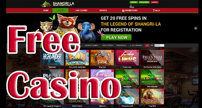 free casino in online