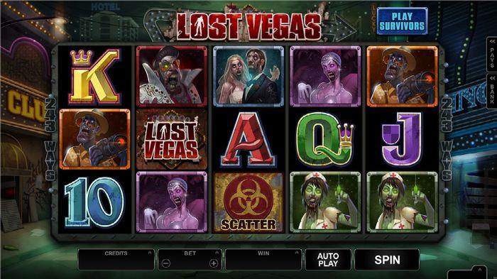Lost Vegas رژیم زامبی