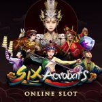Poster Six Acrobats from Microgaming