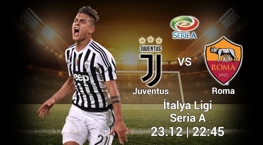 İtalya Seria A. Juventus-Roma. Duyuru ve Tahmin