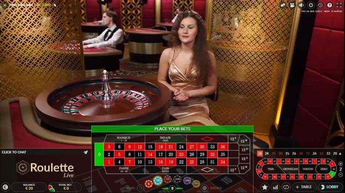French Evolution Live Roulette