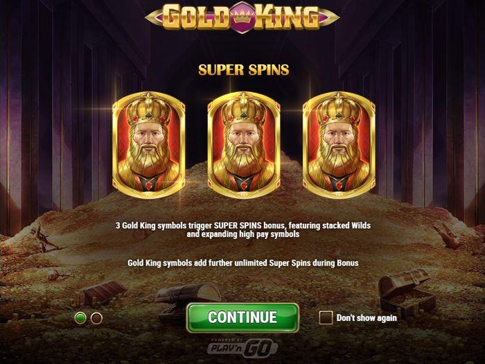 Слот Gold King: особые функции Золотого короля