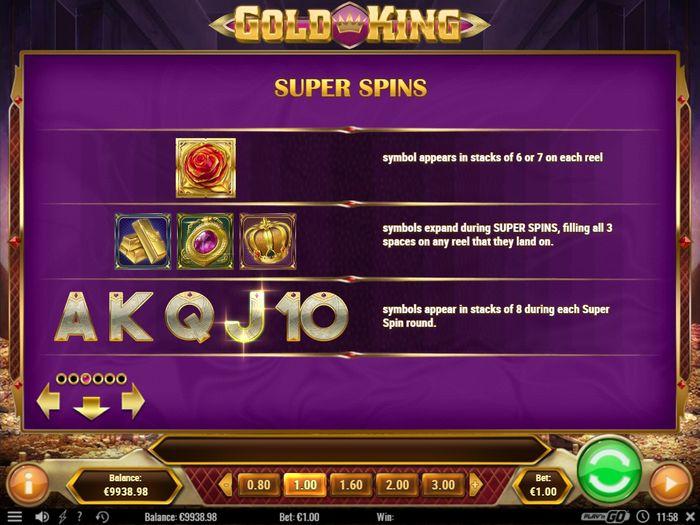 Игровые значки Gold King