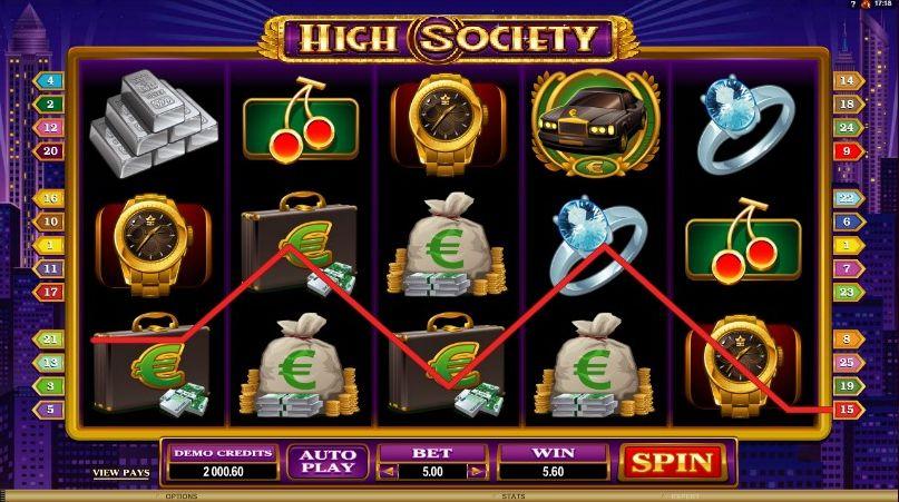 High Society: combo