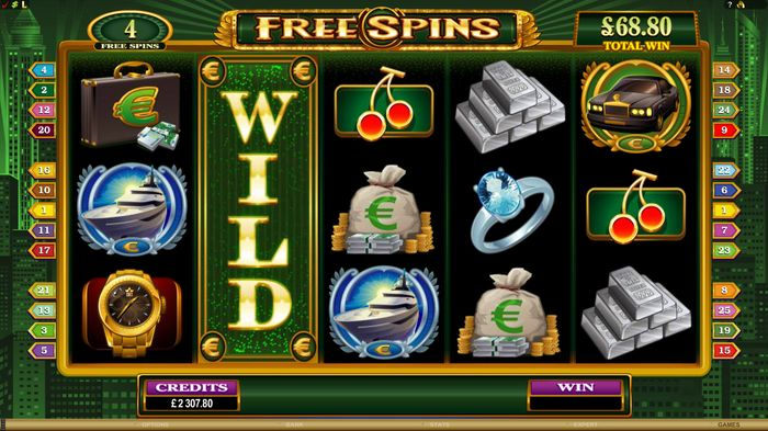 High Society slot: Super Wild Reels