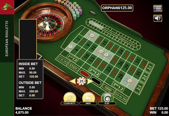 How to play Roulette: Orphans