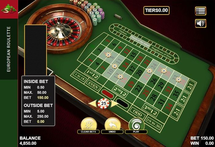 How to play roulette Thirds of the Wheel