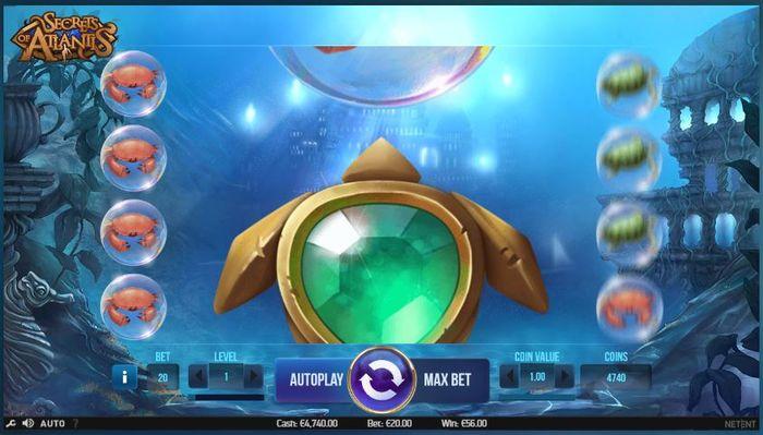 Secrets of Atlantis re spins huge symbol