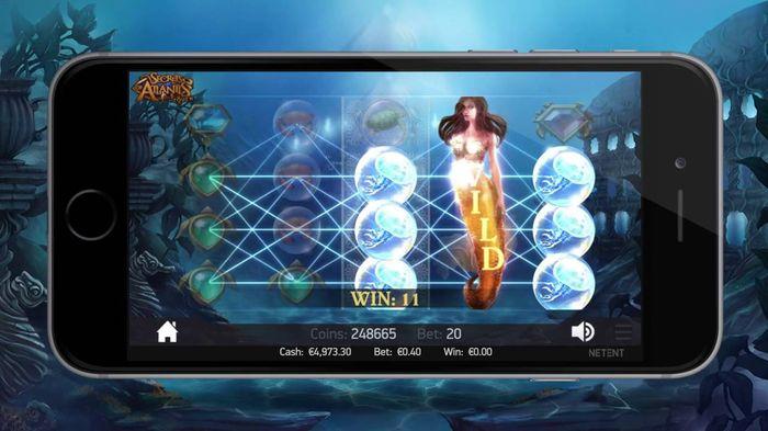 Secrets of Atlantis mobile version