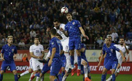بازی دوستانه بین تیم های سویس و یونان
