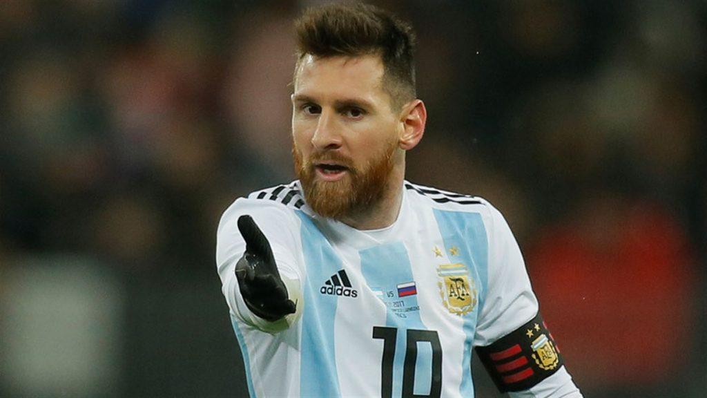 بازی دوستانه ایتالیا مقابل آرژانتین