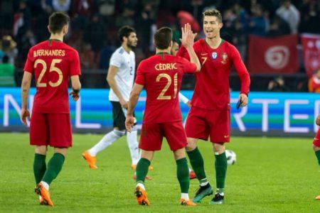 ФИФА Чемпионат мира по футболу 2018: Португалия — Испания