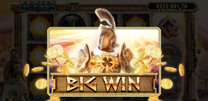 Apollo God of the Sun big win