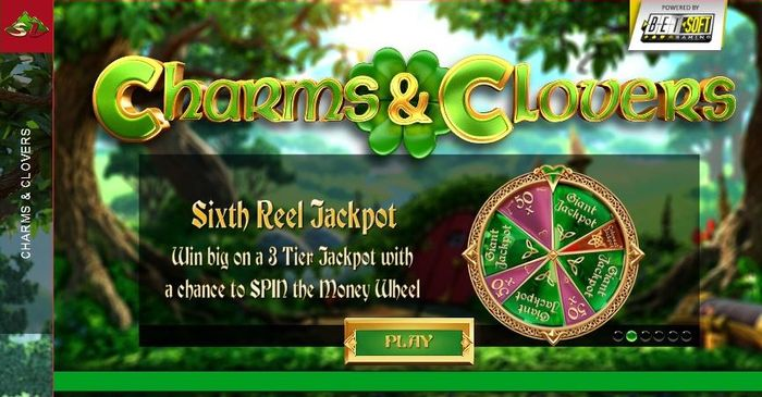 اسلات Charms and Clovers - Super Reel wheel