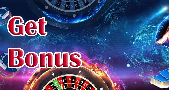 Get free bonuses at online casino