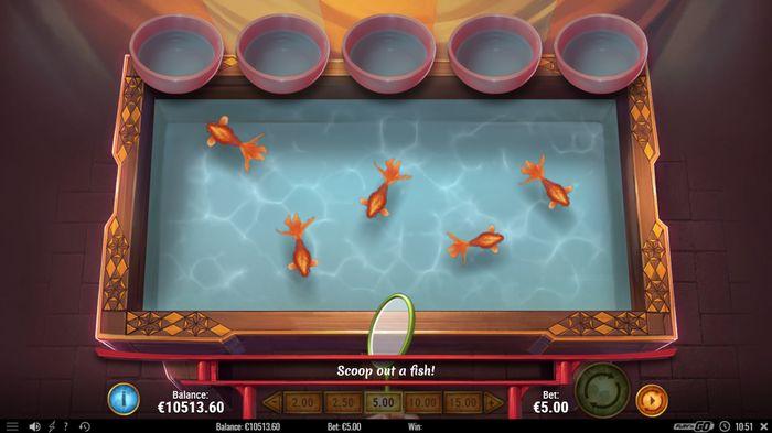 Kingyo Sukui Bonus: catch 5 fish