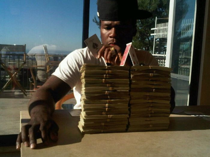 50 Cent won 500 000 in bets