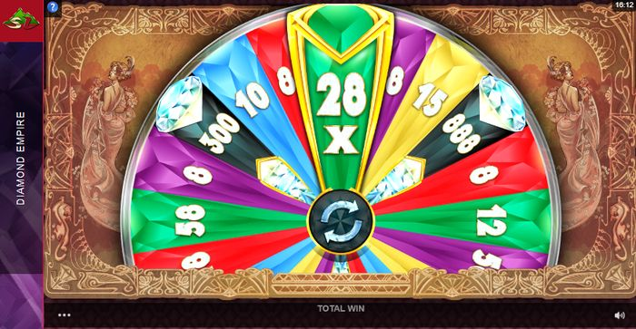 Slot Diamond Empire: Bonus Wheel
