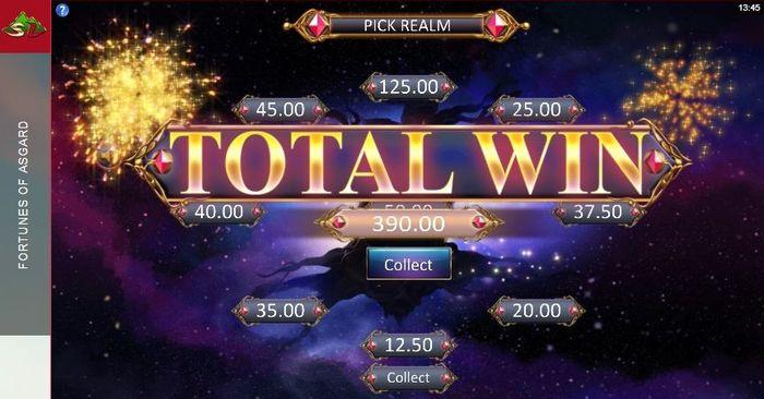 Fortunes of Asgard slot: win
