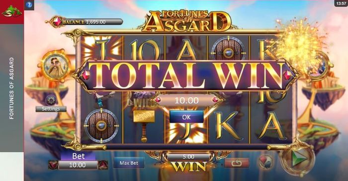 Fortunes of Asgard: free spins