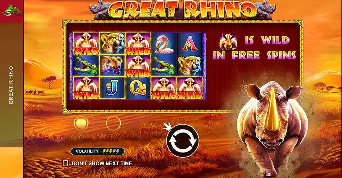 Great Rhino Pragmatic Play: wild rhinos