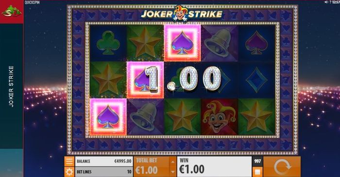 Joker Strike slot: combo
