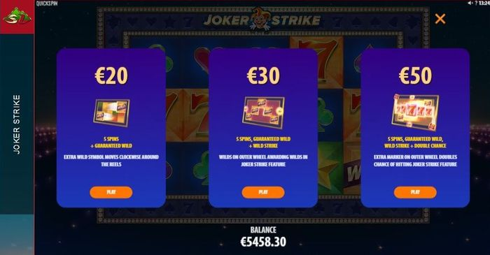 Joker Strike slot: Hi Roller