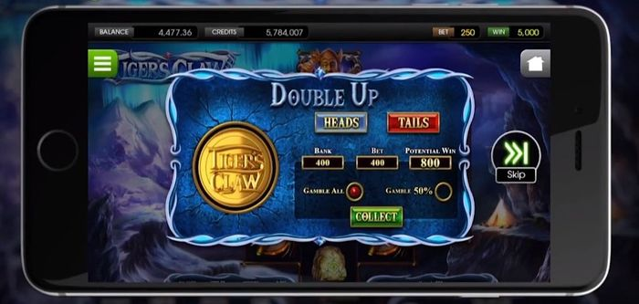 Tigers Claw Betsoft: mobile version