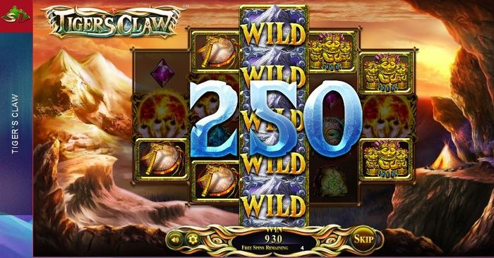 Tigers Claw slot from Betsoft: wild symbol