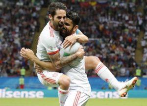 Чемпионат Мира 2018. Испания - Марокко